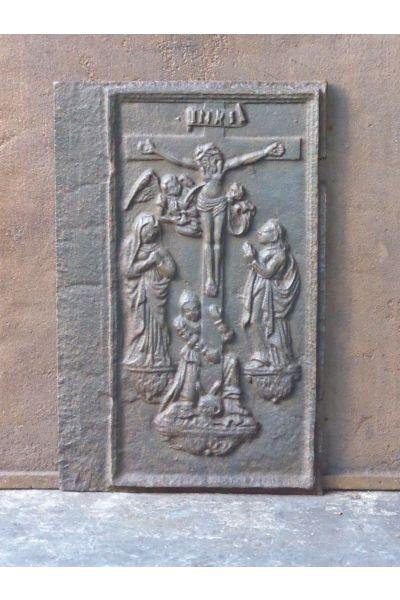 Plaque de Cheminée 'Thème Religieux' en 14