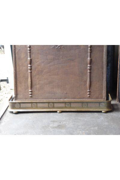 Barre de Chenets Victorienne en 16,155