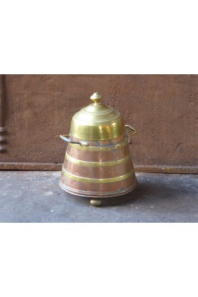 'Doofpot' en cuivre antique en 16,31