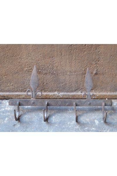 Crochets Anciens d'Ustensiles de Cheminée en 15