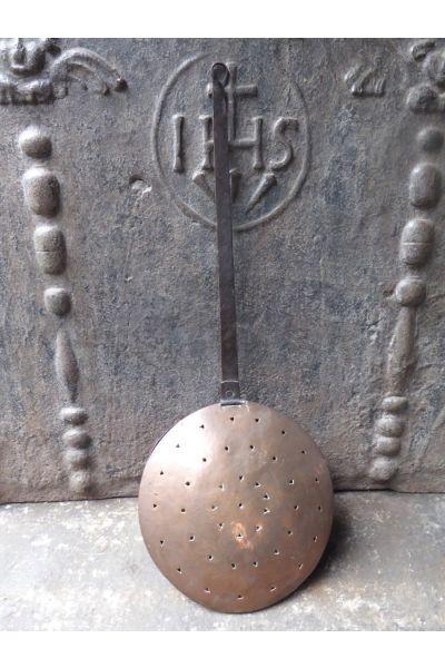 Ancienne bouillotte (de cuivre) en 15,31