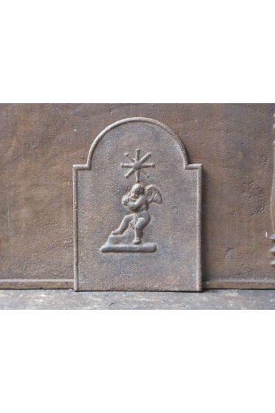 Plaque de Cheminée 'Cupidon' en 14