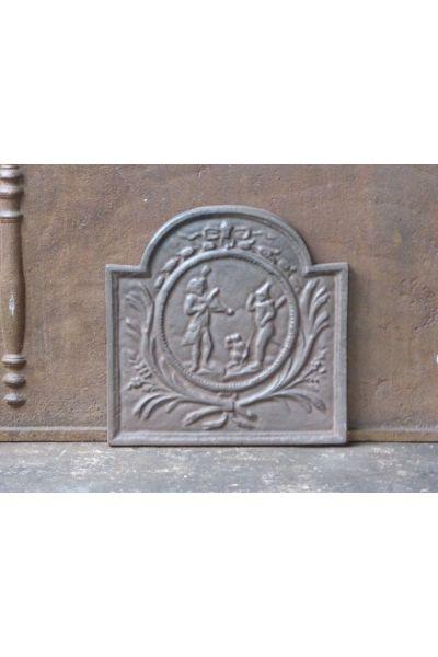 Plaque de Cheminée 'Saltimbanque' en 14