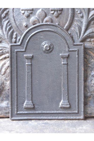 Plaque de Cheminée 'Colonnes de Liberté' en 14