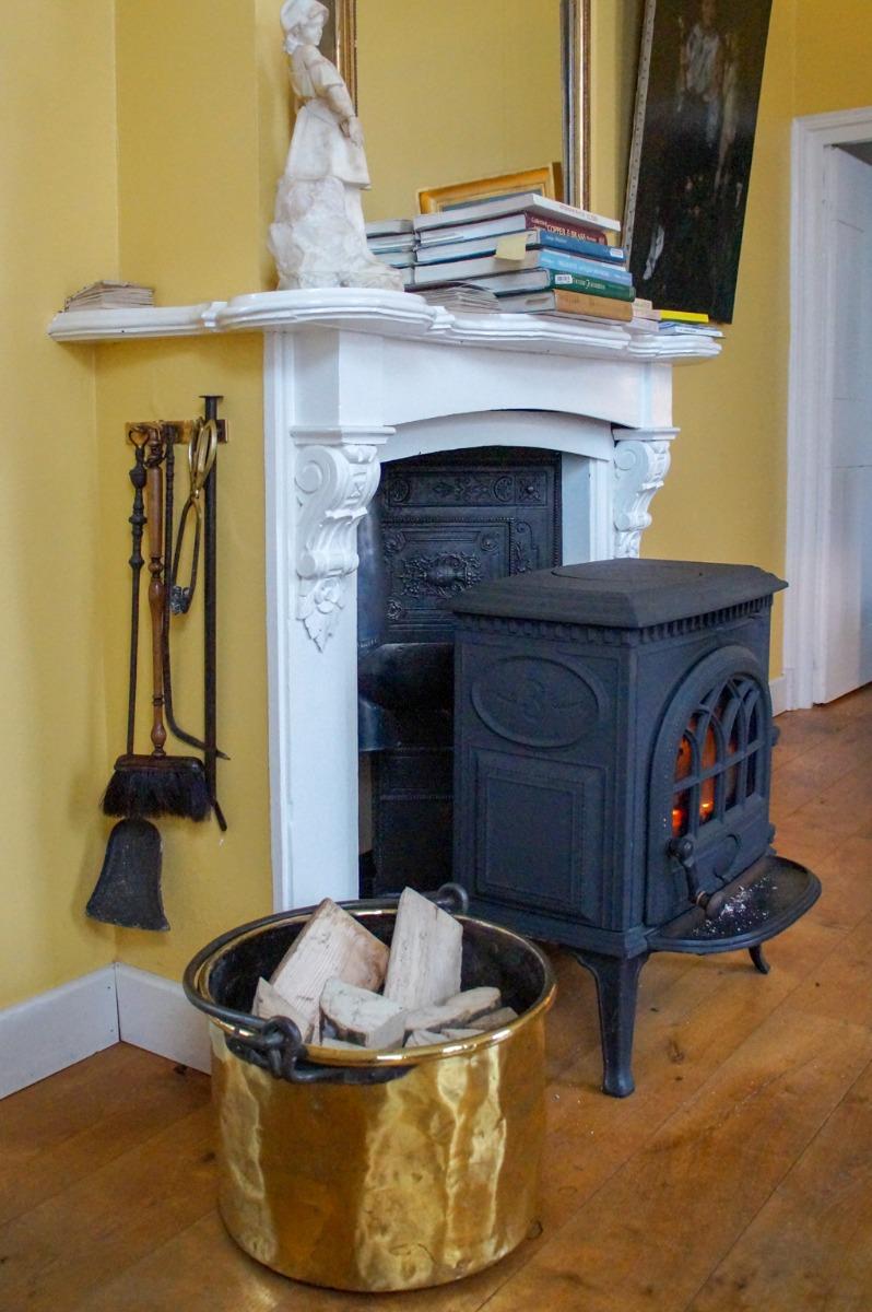 How do I store my fire shovel?