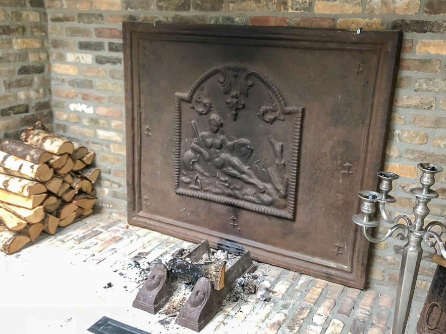 Plaque de cheminée délivré par https://www.plaque-de-cheminee.fr à Bois-le-Duc, Pays-Bas