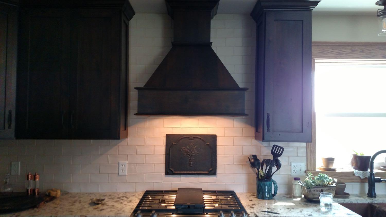 Ionia, Michigan: Plaque de cheminée comme dosseret délivré par https://www.plaque-de-cheminee.fr