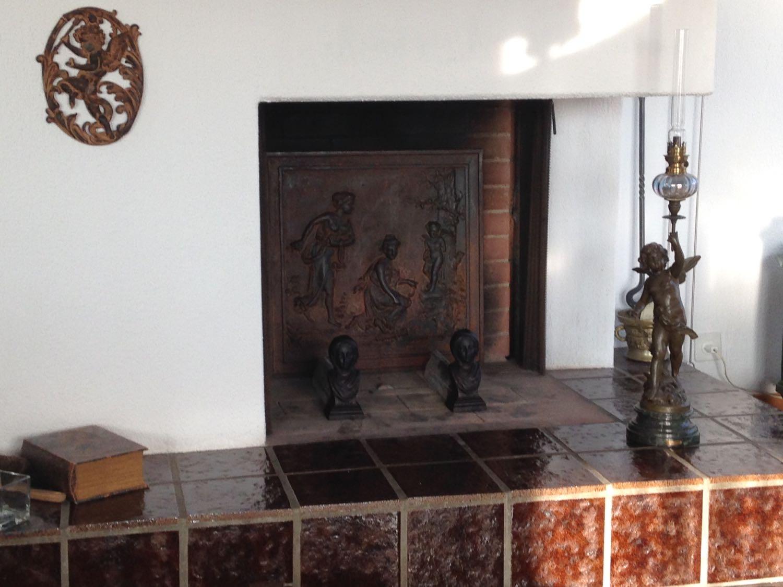 Zurich, Suisse: Plaque de cheminée délivré par https://www.plaque-de-cheminee.fr