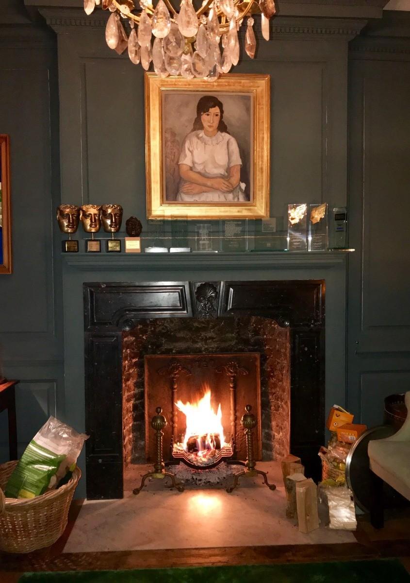 Londres: Plaque de cheminée délivré par https://www.plaque-de-cheminee.fr