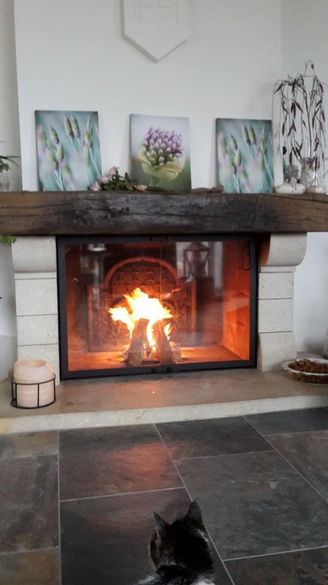 Schaffhouse, Suisse: Plaque de cheminée délivré par https://www.plaque-de-cheminee.fr