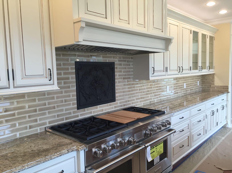 Sequim, Washington: Plaque de cheminée comme dosseret délivré par https://www.plaque-de-cheminee.fr