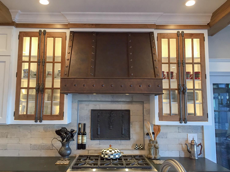 Plaque de cheminée comme dosseret à Chicago, Illinois, délivré par https://www.plaque-de-cheminee.fr