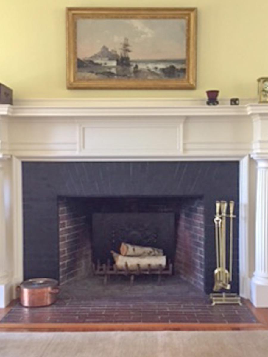 Plaque de cheminée à Marblehead, Massachusetts délivré par https://www.plaque-de-cheminee.fr