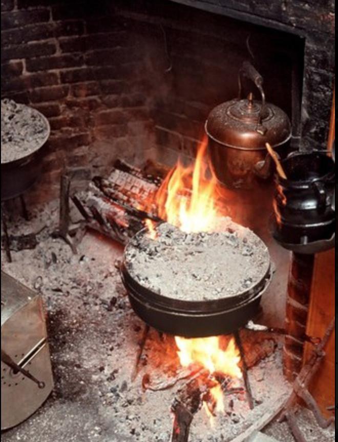 Comment bien cuisiner dans ma chemin e au moyen d anciens for Cucinare per 50
