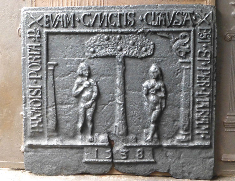 Plaque de cheminée 3