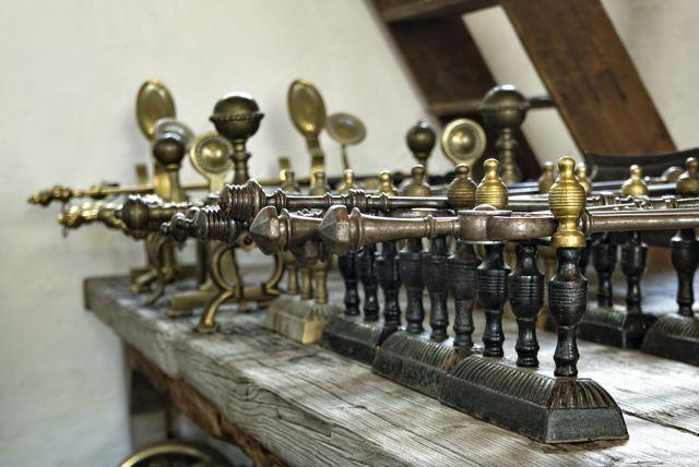 Accessoires de cheminee anciennes