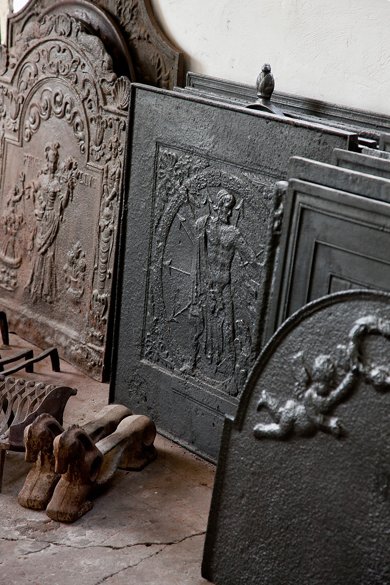 Plaques de cheminée à Amerongen