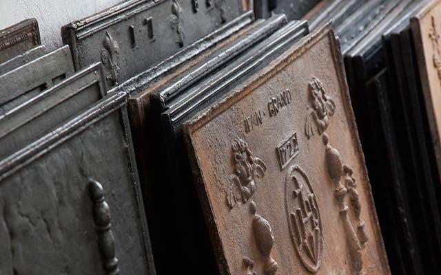 Plaques de cheminée à vendre