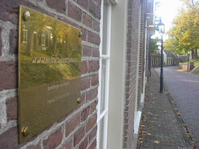 Plaques de cheminees a Amerongen