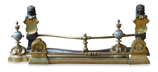 Ancien barre de chenets à vendre