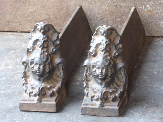 Chenets Louis XIV