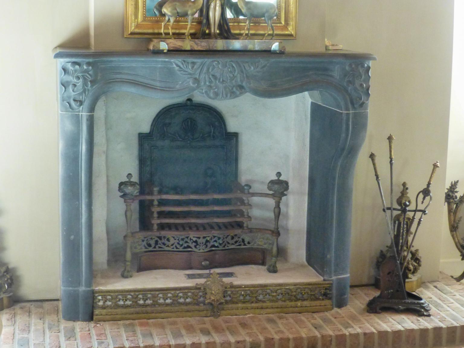 Grille de cheminée & serviteur: Soest, Pays Bas